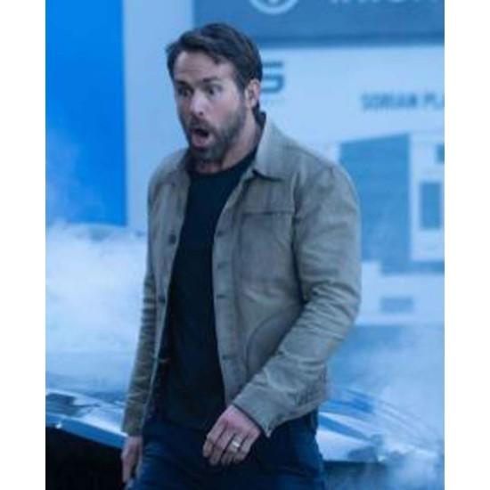 Ryan Reynolds The Adam Project Cotton Jacket