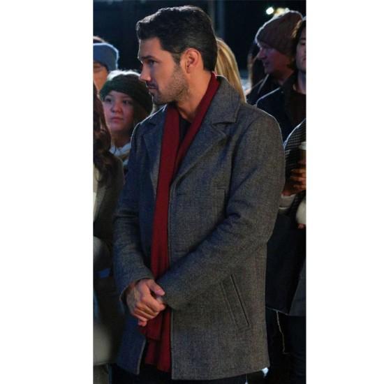 A Timeless Christmas Ryan Paevey Wool Coat