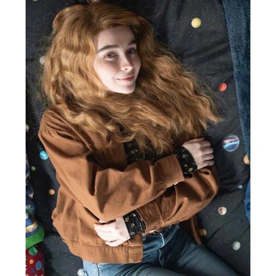 Sabrina Carpenter Clouds Cotton Jacket