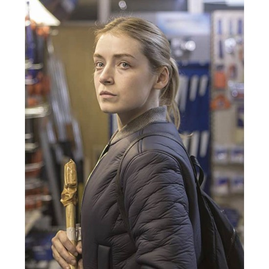 A Good Woman Is Hard To Find Sarah Bolger Blue Jacket