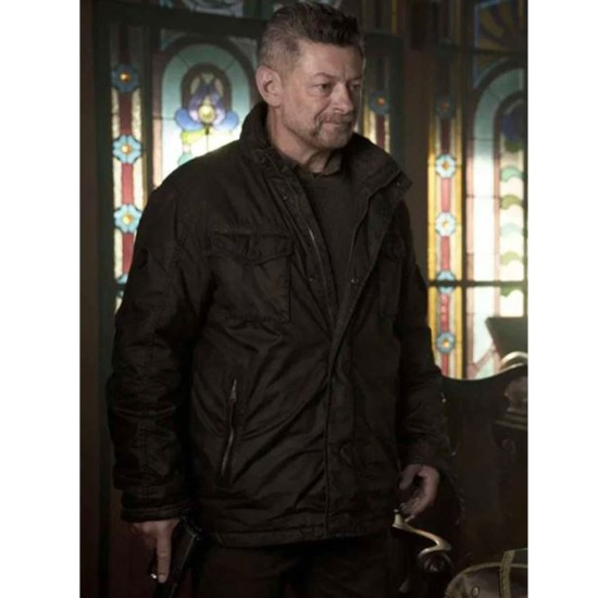 Andy Serkis SAS Red Notice Cotton Jacket