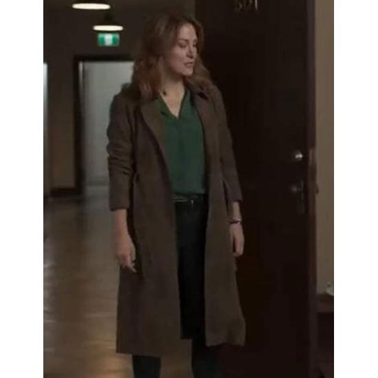 Chesler Dangerous Lies Brown Coat
