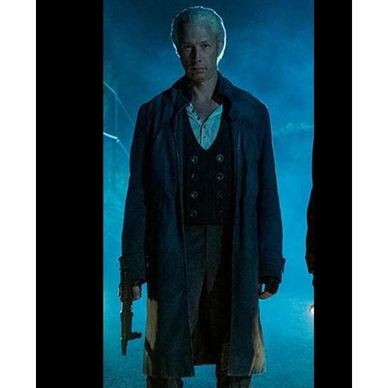 Jason Bryden The Umbrella Academy S02 Leather Coat
