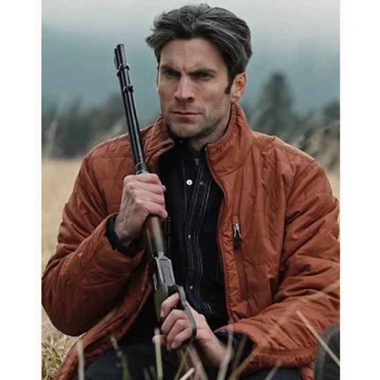 Yellowstone Wes Bentley Parachute Jacket