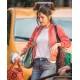 Selena Gomez Bomber Red Jacket