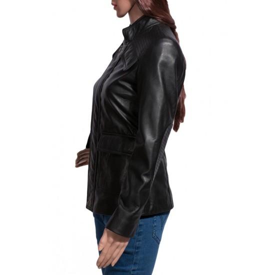 Divergent Dauntless Shailene Woodley Leather Jacket