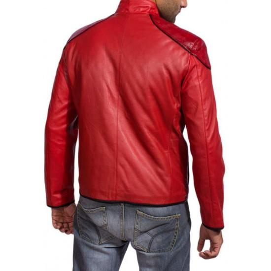 Injustice Gods Among Us Shazam Leather Jacket