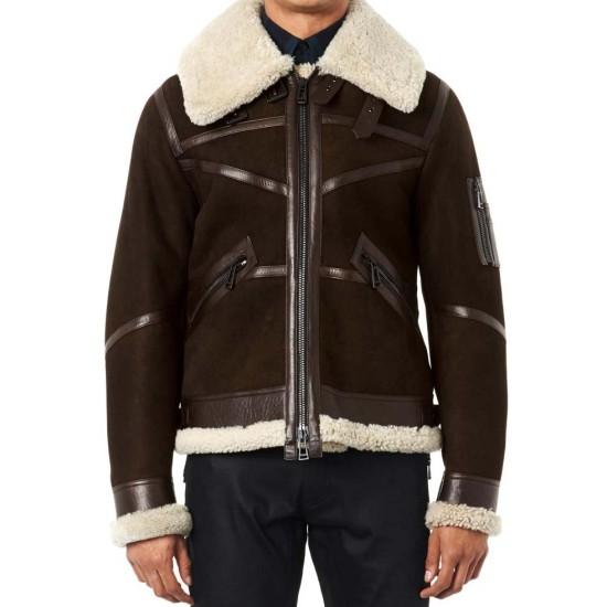 50 Cent Brown Suede Jacket