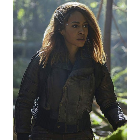 Simone Missick Altered Carbon Bomber Leather Jacket