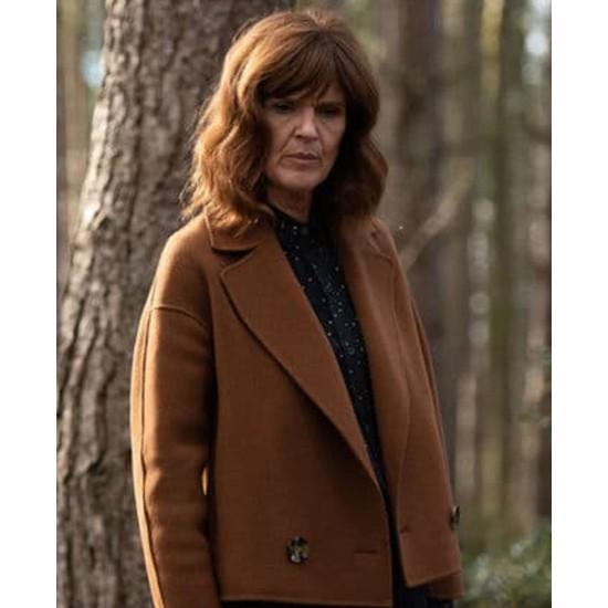 Siobhan Finneran The Stranger Wool Jacket