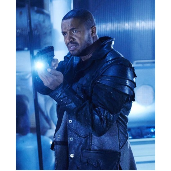 Dark Matter TV Series Roger Cross Leather Jacket