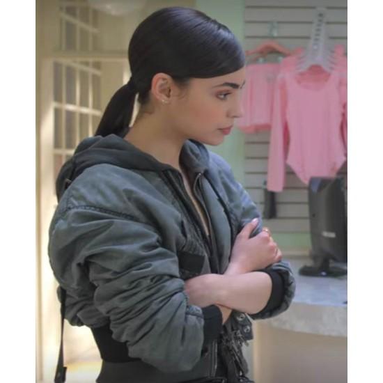 Feel The Beat Sofia Carson Grey Jacket