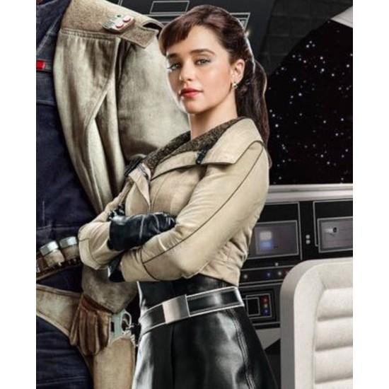Solo A Star Wars Story Emilia Clarke Jacket