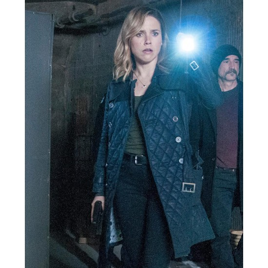 Chicago P.D. Erin Lindsay Double Breasted Coat