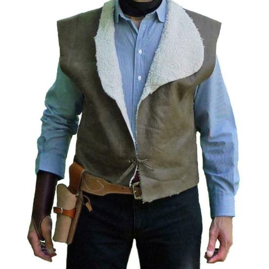 Clint Eastwood Spaghetti Western Shearling Vest