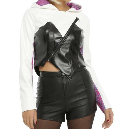 Women's Spider Gwen Leather Jacket
