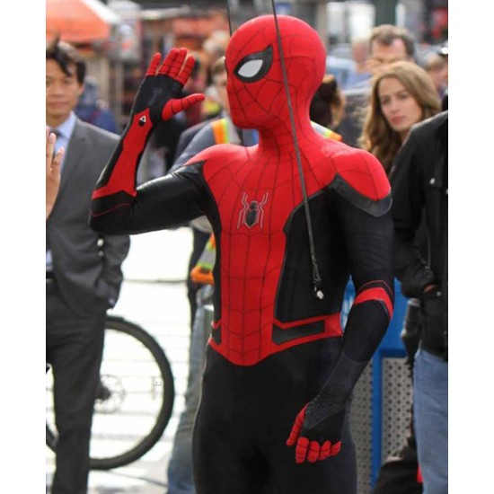 Far From Home Spider-Man Leather Jacket