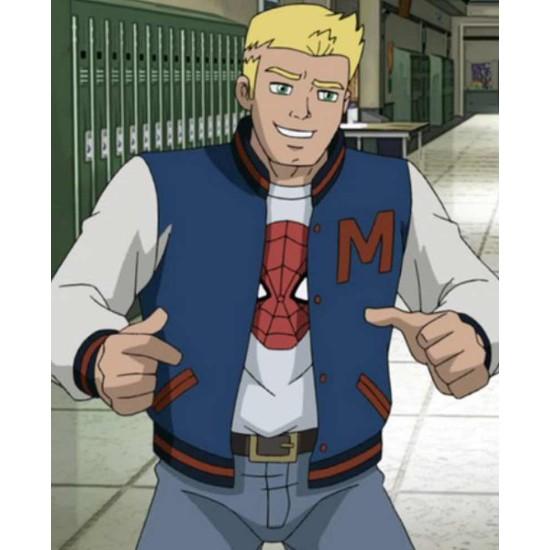 Agent Venom Ultimate Spider-Man Varsity Jacket