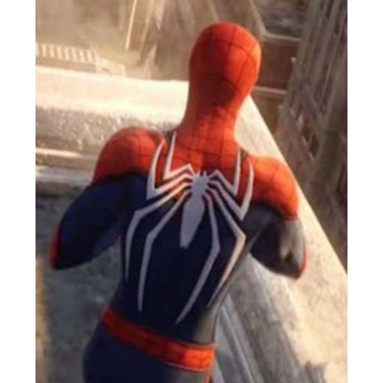 Spiderman PS4 Leather Jacket