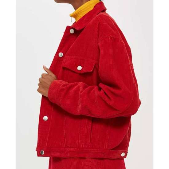 Spinning Out Willow Shields Corduroy Jacket