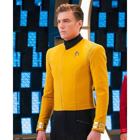 Anson Mount Star Trek Discovery Yellow Jacket