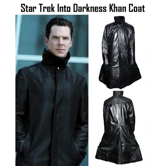 Star Trek Into Darkness Khan Noonien Singh Trench Coat