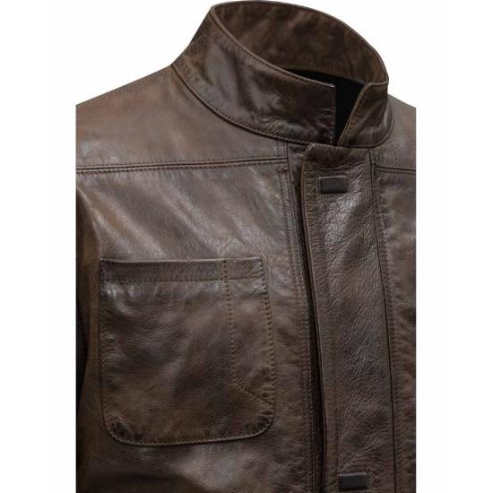 Star Wars TFA Han Solo Leather Jacket
