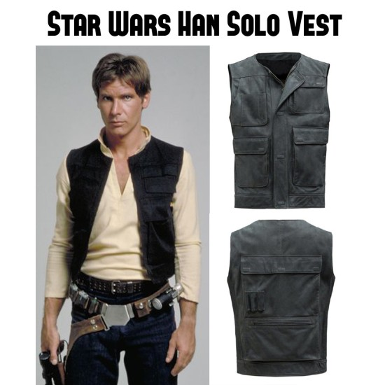 Han Solo Star Wars Vest