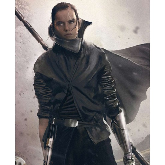 Daisy Ridley Star Wars The Last Leather Jacket