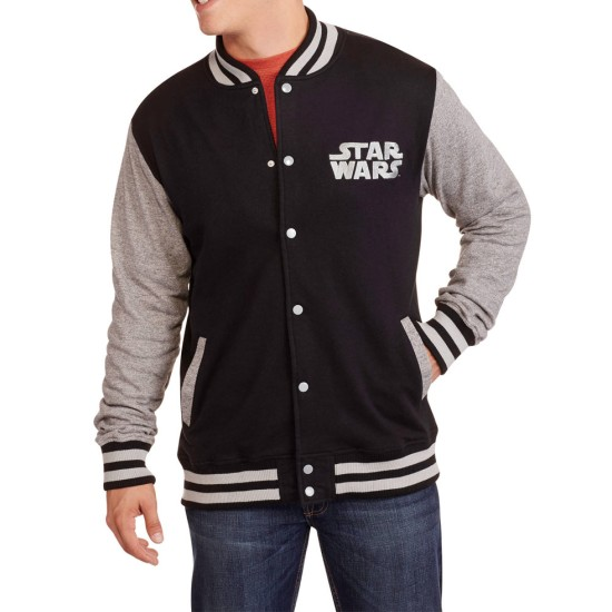 Men's Star Wars Fleece Varsity Jacket