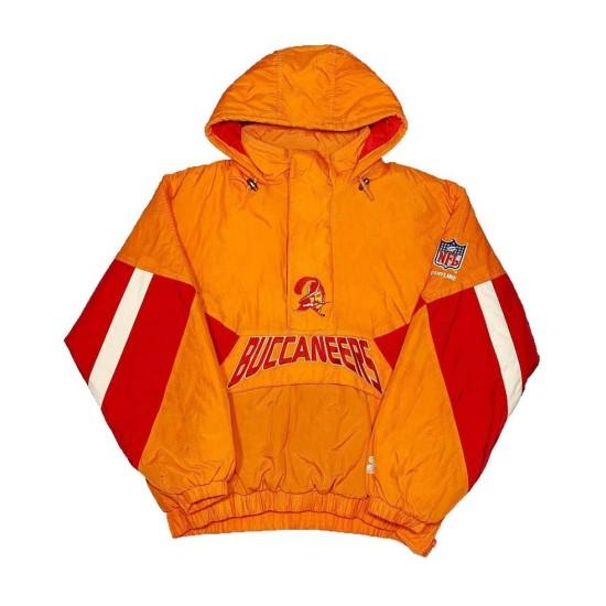Buccaneers Bucco Bruce Orange Hoodie