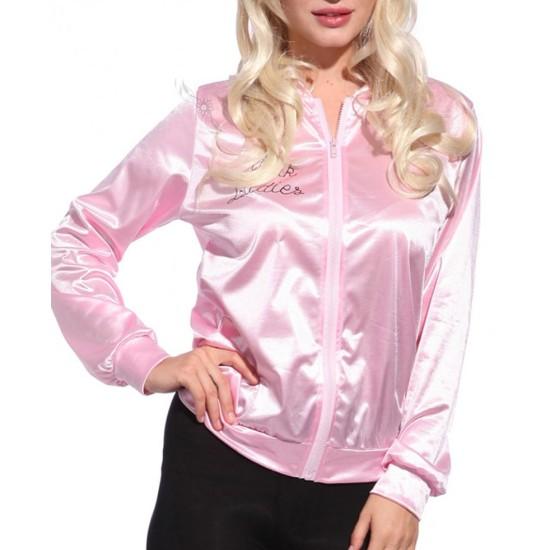 Stephanie Zinone Pink Ladies Grease Jacket