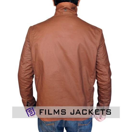 Arrow TV Series Oliver Queen Brown Cotton Jacket