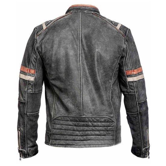Eurovision Song Contest Will Ferrell Cafe Racer Jacket