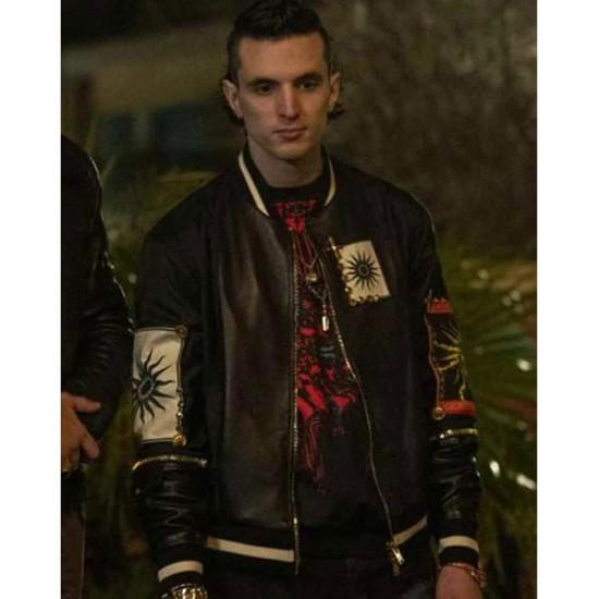 Giacomo Ferrara Suburra Season 03 Bomber Leather Jacket