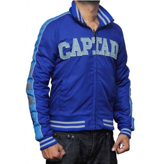 Suicide Squad Captain Boomerang Blue Jacket