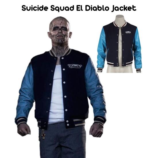 Suicide Squad El Diablo Jacket