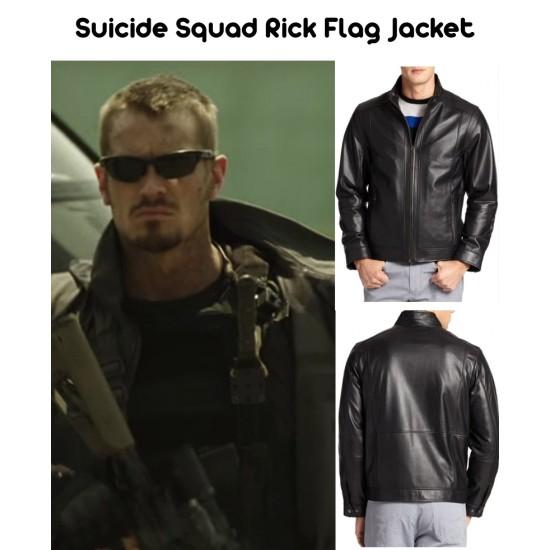 Suicide Squad Rick Flag Jacket