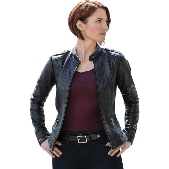 Chyler Leigh Supergirl Leather Jacket