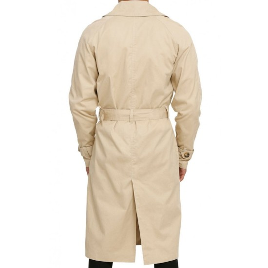 Castiel Supernatural Misha Collins Trench Coat
