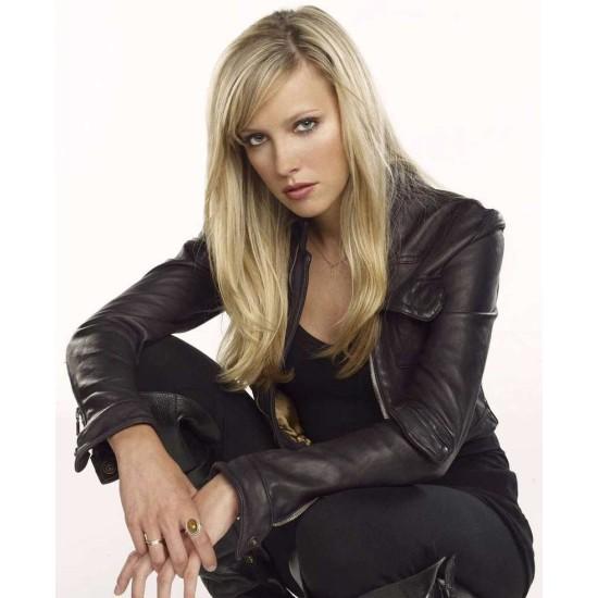 Ruby Supernatural Genevieve Cortese Leather Jacket