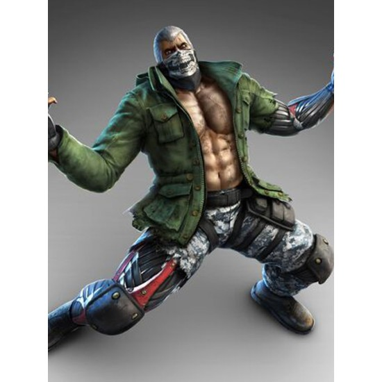 Bryan Fury Tekken Green Jacket
