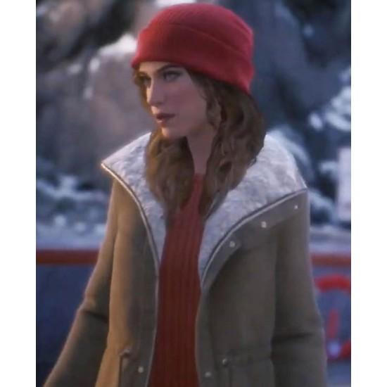 Tell Me Why Alyson Ronan Shearling Coat