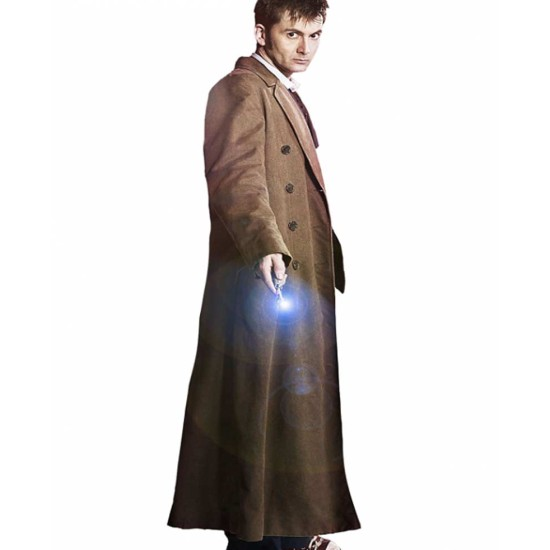 10th Doctor David Tennant Trench Coat