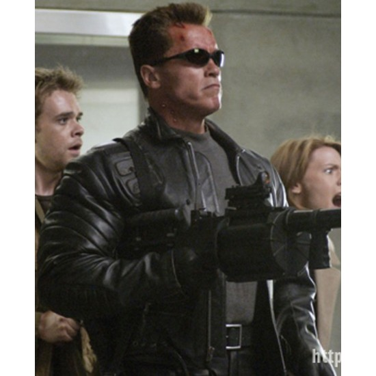 Terminator 3 Rise of the Machines Leather Jacket