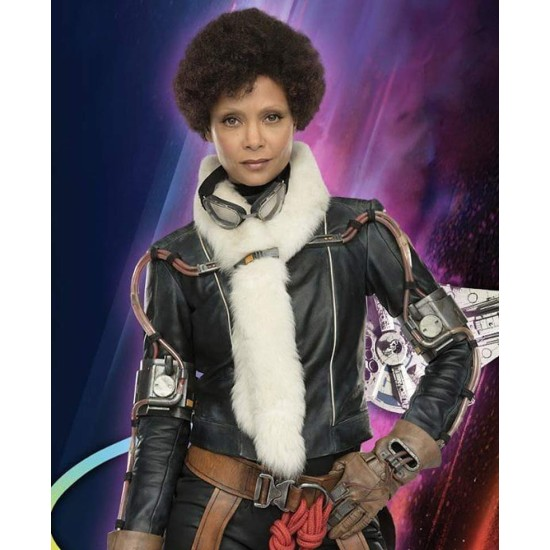 Solo A Star Wars Story Val Leather Jacket