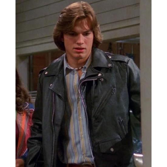 Ashton Kutcher That 70s Show Motorcycle Jacket