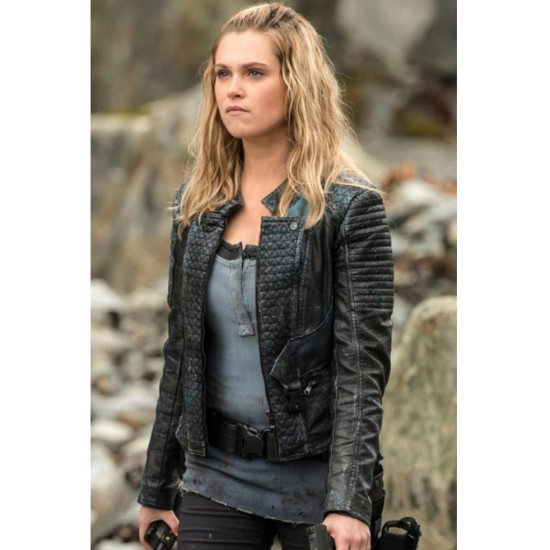 Clarke Griffin The 100 Leather Jacket