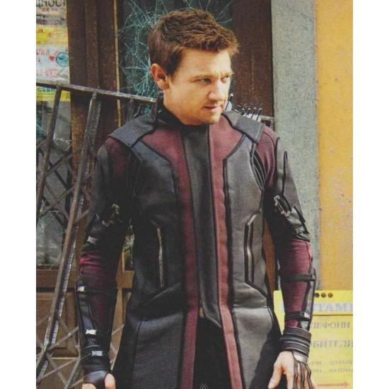 Hawkeye Avengers Age of Ultron Jeremy Renner Coat
