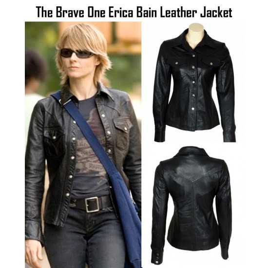 Erica Bain The Brave One Jodie Foster Jacket